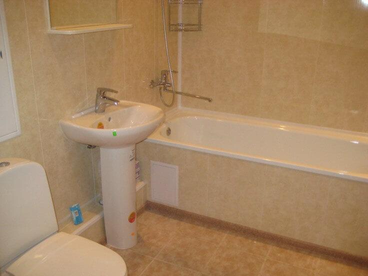 Фото ремонт ванны пластиковыми панелями своими руками